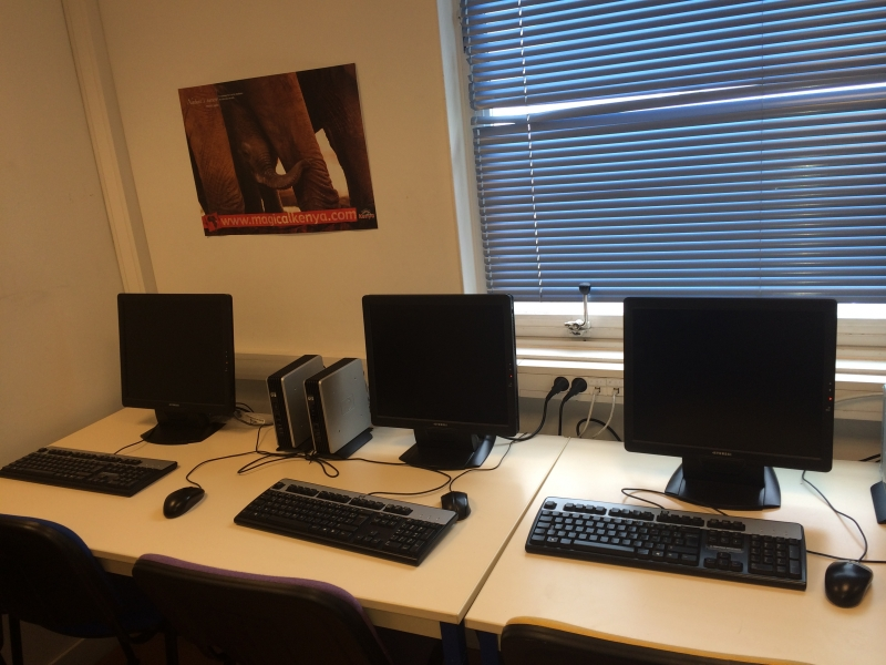 Nos salles informatique