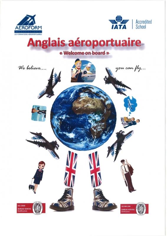 Livre d'anglais aéroportuaire